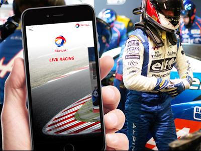 TotalEnergies Live Racing App