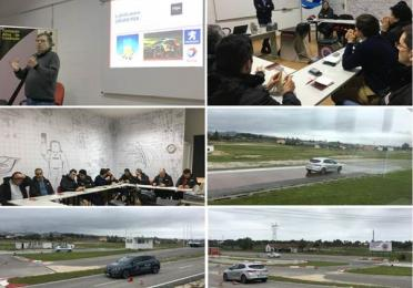 TOTAL e PSA participaram a um curso de condução segura